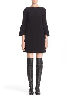 Lafayette 148 New York 'Marisa' Flounce Cuff Shift Dress