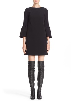 Lafayette 148 New York 'Marisa' Flounce Cuff Shift Dress