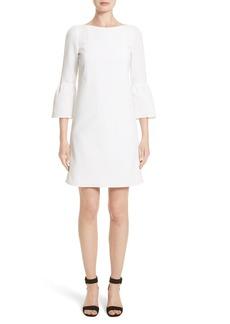 Lafayette 148 New York Marisa Flounce Cuff Shift Dress (Nordstrom Exclusive)