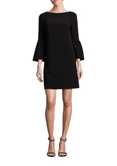 Lafayette 148 New York Marisa Flounce Sleeve Shift Dress