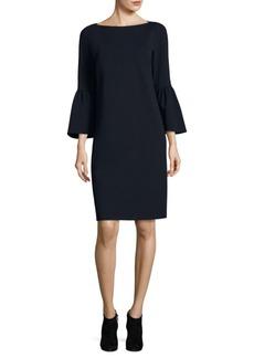 Lafayette 148 Marissa Bell-Sleeve Dress