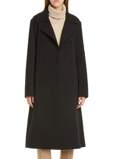 Lafayette 148 New York Marjorie Wool Trench Coat