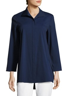 Lafayette 148 New York Marla Cotton Blouse