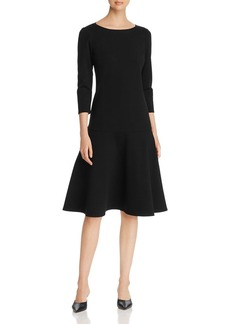Lafayette 148 New York Martha Drop-Waist Dress