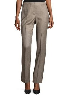Lafayette 148 New York Mason Borrow Straight-Leg Pants