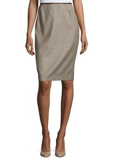 Lafayette 148 New York Mason Modern Slim Pencil Skirt