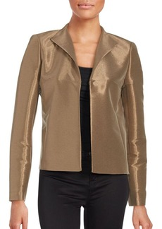 Lafayette 148 New York Maud Metallic Jacket