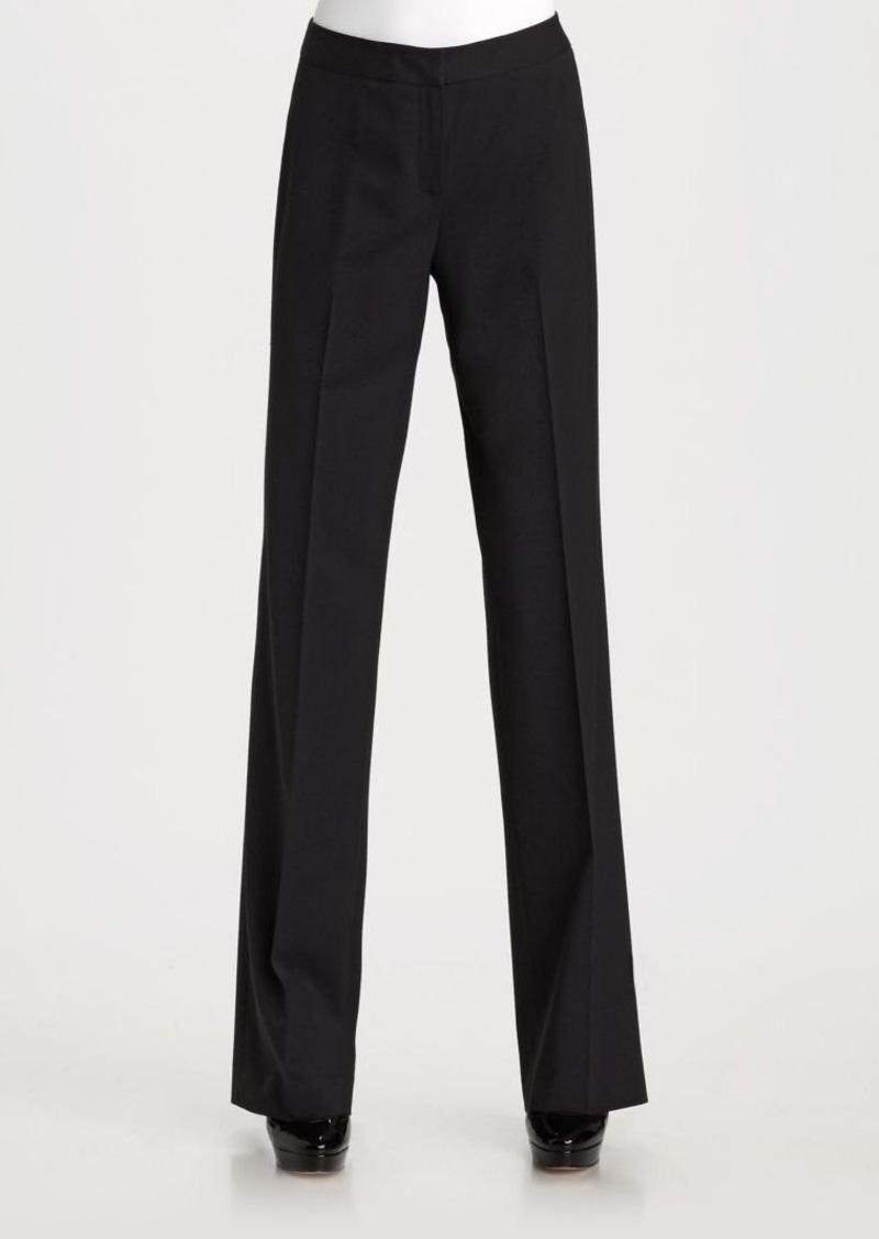 Lafayette 148 Stretch Wool Menswear Pants