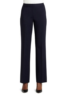 Lafayette 148 Wool-Blend Menswear Pants