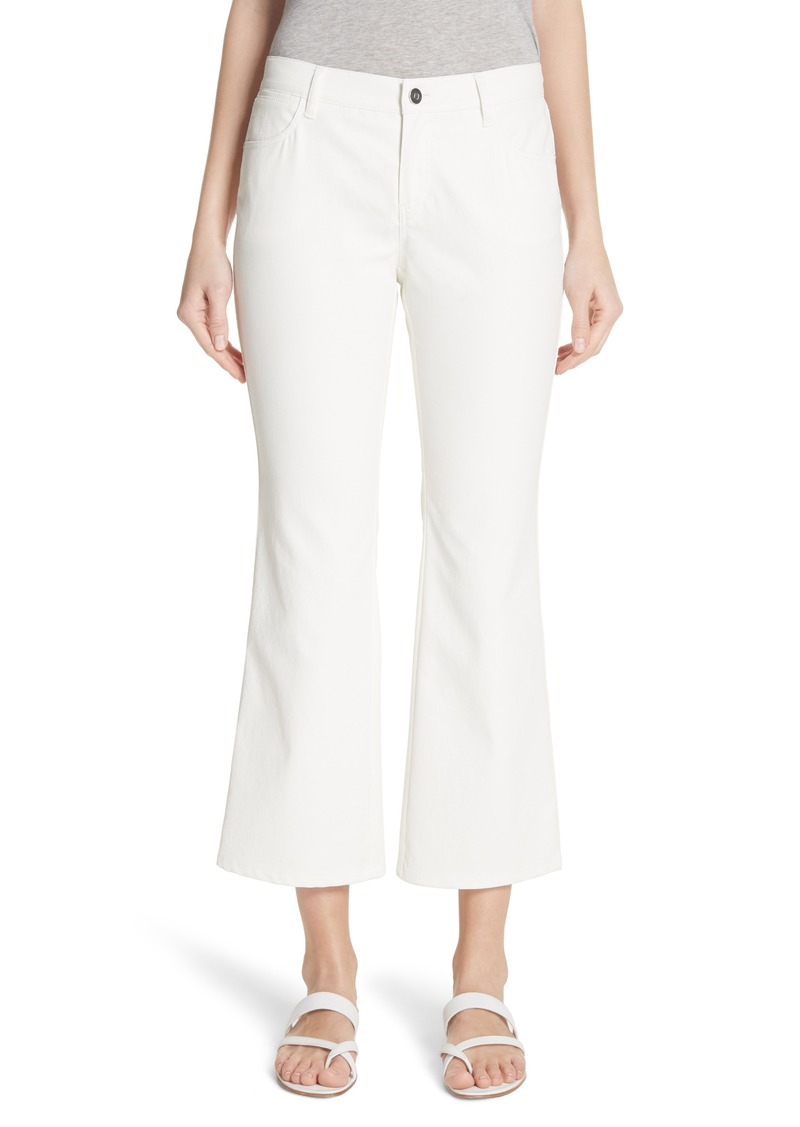 Lafayette 148 New York Mercer Crop Flare Jeans