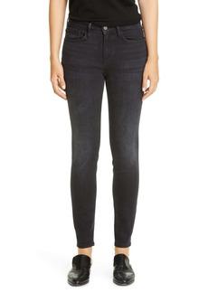 Lafayette 148 New York Mercer Skinny Jeans (Washed Onyx)