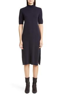 Lafayette 148 New York Merino Wool & Cashmere Sweater Dress