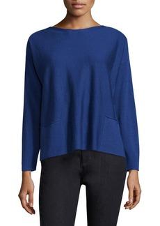 Lafayette 148 New York Merino Wool Shirt