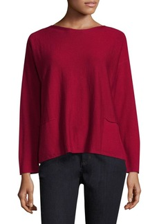 Lafayette 148 New York Merino Wool Top