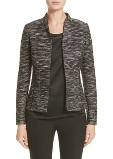 Lafayette 148 New York Meryl Zip Front Jacket (Nordstrom Exclusive)