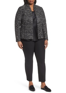 Lafayette 148 New York Meryl Zip Front Jacket (Plus Size)
