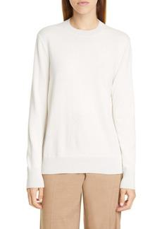 Lafayette 148 New York Metallic Trim Cashmere Sweater