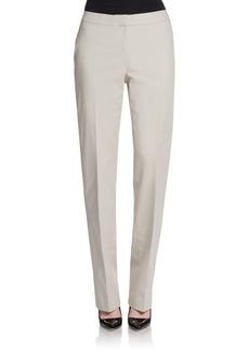 Lafayette 148 New York Metropolitan Straight-Leg Pants