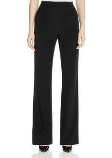 Lafayette 148 New York Metropolitan Stretch Silk Straight Pants