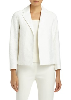 Lafayette 148 New York Milena Cotton & Silk Jacquard Jacket