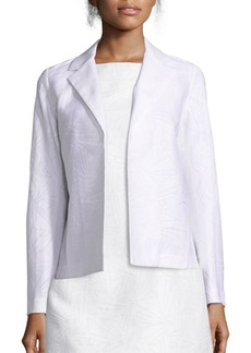 Lafayette 148 New York Milena Cotton and Silk Jacquard Jacket