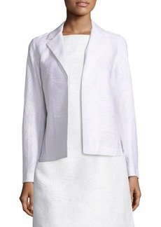 Lafayette 148 Milena Cotton and Silk Jacquard Jacket
