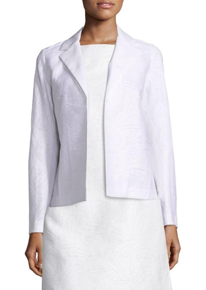 Lafayette 148 Milena Cotton and Silk Jacquard Jacket