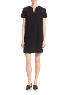 Lafayette 148 New York Milennium Crepe Ezra Dress