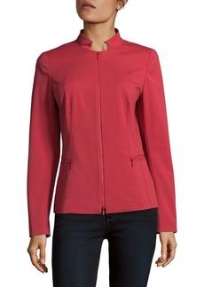 Lafayette 148 Mimi Tonal Stitched Jacket