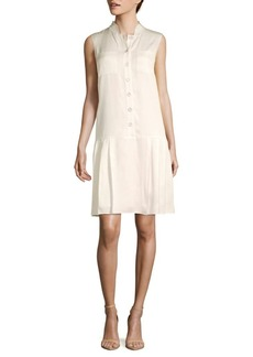 Lafayette 148 Minka Sleeveless Drop-Waist Dress