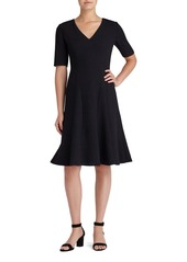 Lafayette 148 New York 'Mirasol' Nouveau Crepe Dress