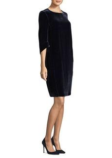 Lafayette 148 Miriam Velvet Dress