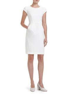 Lafayette 148 New York 'Mischa' Cap Sleeve Sheath Dress