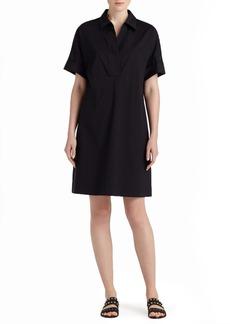 Lafayette 148 New York 'Mitra' Short Sleeve Shirtdress