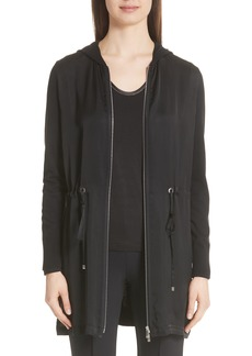 Lafayette 148 New York Mixed Media Cardigan (Nordstrom Exclusive)