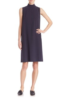 Lafayette 148 New York Mockneck Shift Dress