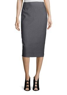 Lafayette 148 Modular Jacquard Pencil Skirt
