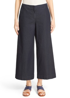 Lafayette 148 New York Morton Denim Culottes