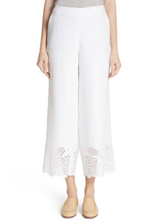 Lafayette 148 New York Morton Embroidered Pants