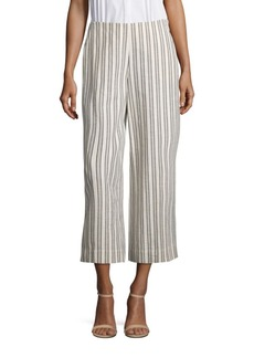 Lafayette 148 New York Morton Trolley Striped Culottes