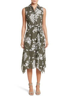 Lafayette 148 New York Moxie Sleeveless Shirtdress