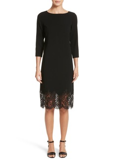 Lafayette 148 New York Mya Lace Hem Dress