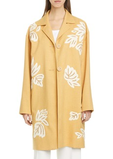 Lafayette 148 New York Myer Embellished Car Coat