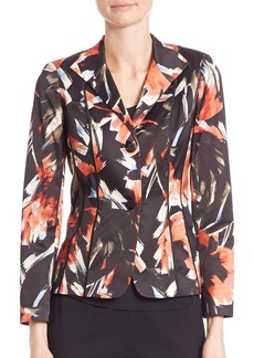 Lafayette 148 New York Mystic Mums On Debbie Jacket