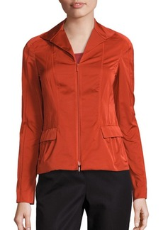 Lafayette 148 New York Nala Wing Collar Jacket