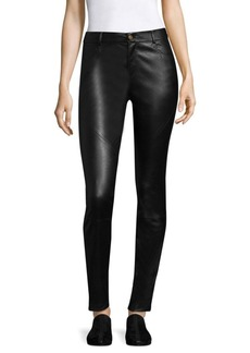 Lafayette 148 Nappa Leather Mercer Pants
