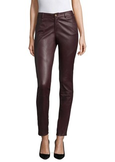Lafayette 148 New York Nappa Leather Mercer Pant