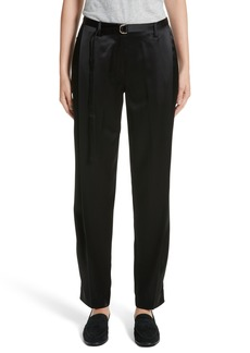Lafayette 148 New York Nassau Reverie Satin Cloth Pants
