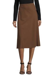 Lafayette 148 New York Nelia Wool-Blend Midi Skirt