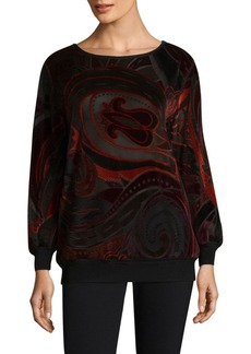 Lafayette 148 New York Nessa Patterned Blouse